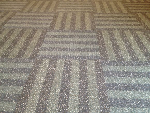 The Carpet of Floor 2 and 3 of Moscone West...
