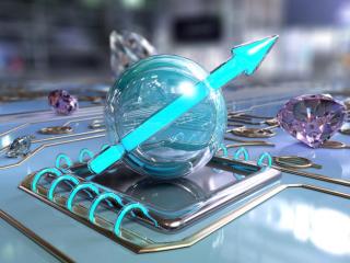 Quantum chip_diamond-graphene